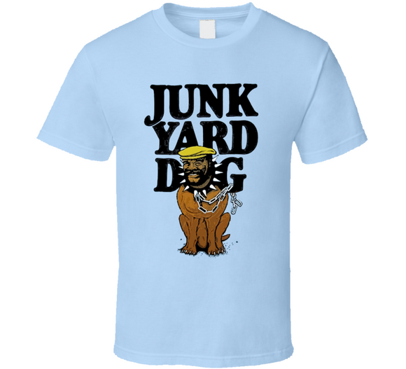 JunkYard Dog JYD Retro Wrestling T Shirt - Blazintees.com