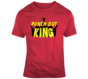 Mike Tyson Punch Out King Retro Video Game V2 T Shirt - Blazintees.com