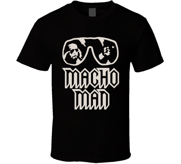 Randy Savage Macho Man Retro Wrestling T Shirt - Blazintees.com