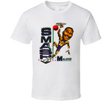 Karl Malone Smash Malone Utah Basketball Caricature T Shirt - Blazintees.com