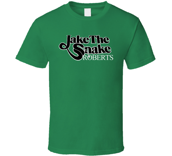 Jake The Snake Roberts Retro Wrestling T Shirt - Blazintees.com