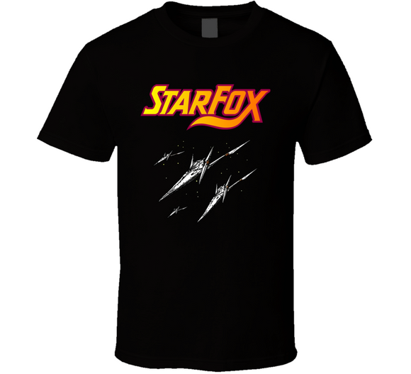Star Fox NES Nintendo Retro Video Game T Shirt - Blazintees.com