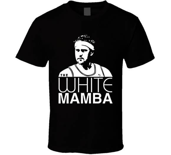 Brian Scalabrine White Mamba Basketball T Shirt - Blazintees.com