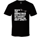 Marty Jannetty Boogeyman Checks Closet Retro Wrestling T Shirt - Blazintees.com