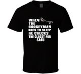 Sabu Boogeyman Checks Closet Retro Wrestling T Shirt - Blazintees.com