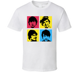 The Monkees Warhol Retro Rock And Roll Band Music T Shirt - Blazintees.com