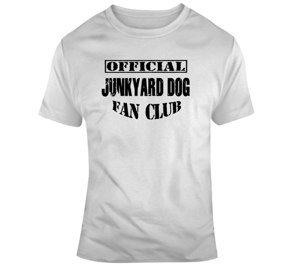 Junkyard Dog Official Fan Club Wrestling T Shirt - Blazintees.com