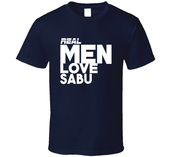 Sabu Real Men Love Retro Wrestling T Shirt - Blazintees.com