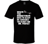 Mr Perfect Boogeyman Checks Closet Retro Wrestling T Shirt - Blazintees.com