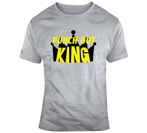 Mike Tyson Punch Out King Retro Video Game T Shirt - Blazintees.com