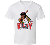 Kirby Puckett Minnesota Baseball Caricature T Shirt - Blazintees.com