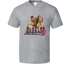 Charles Barkley The New Rising Sun Phoenix Basketball Caricature T Shirt - Blazintees.com