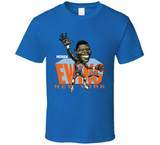 Patrick Ewing New York Basketball Caricature T Shirt - Blazintees.com
