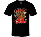 Michael Jordan 6 Pack Chicago Basketball Caricature T Shirt - Blazintees.com