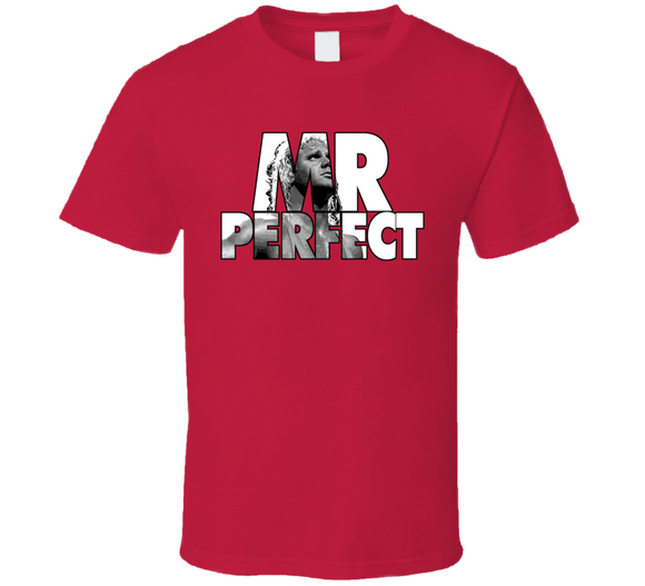 Mr Perfect Classic Retro Wrestling T Shirt - Blazintees.com