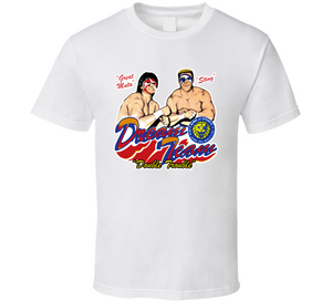 Sting The Great Muta Dream Team Double Trouble Retro WCW Wrestling T Shirt - Blazintees.com
