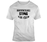 Sting Official Fan Club Wrestling T Shirt - Blazintees.com