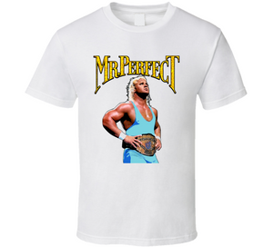 Mr Perfect Wrestling Legend Retro Wrestling T Shirt - Blazintees.com