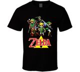 The Legend Of Zelda Link Retro Video Game T Shirt - Blazintees.com