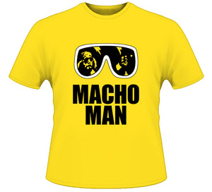 Macho Man Randy Savage Retro Wrestling T Shirt - Blazintees.com