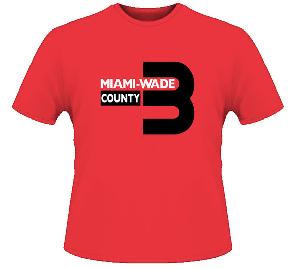 D Wade Miami Wade County Miami Basketball T Shirt - Blazintees.com