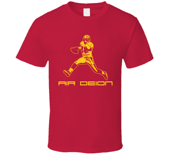 Deion Sanders Air Deion High Step Legend Football T Shirt - Blazintees.com