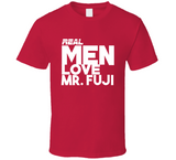 Mr Fuji Real Men Love Retro Wrestling T Shirt - Blazintees.com