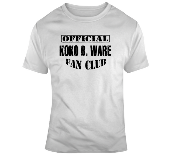 Koko B Ware Official Fan Club Wrestling T Shirt - Blazintees.com
