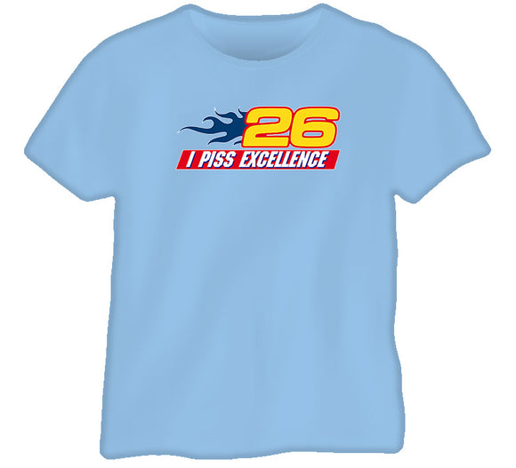Talladega Nights Excellence Movie T Shirt - Blazintees.com