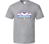 WCW The Four Horseman Retro Wrestling T Shirt - Blazintees.com