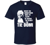 Tie Domi Boogeyman Checks Closet Toronto Hockey T Shirt - Blazintees.com