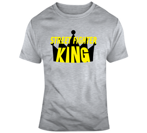 Street Fight King Retro Video Game T Shirt - Blazintees.com