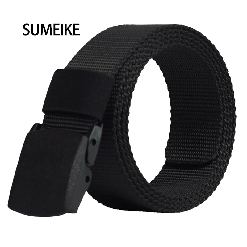 BELTS -  Automatic Buckle Nylon Army Belt