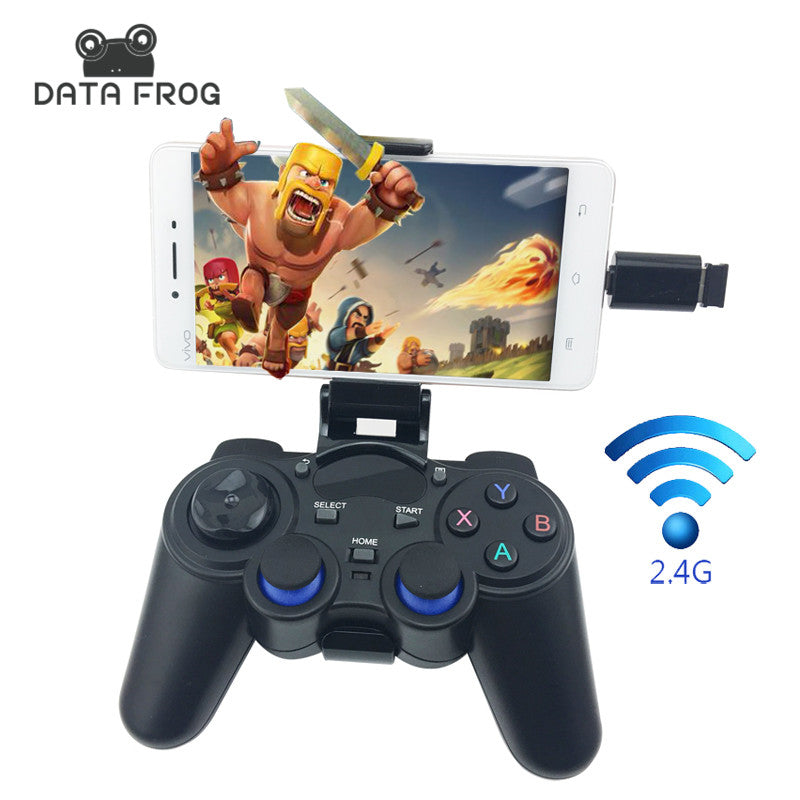 SMART PHONES CONTROLLERS - Joystick for Android Smartphone 2.4G Wireless Gamepad for PS3