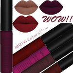 COSMETICS -  Sexy 34 Colors Waterproof Matte Long Lasting Liquid Lipstick