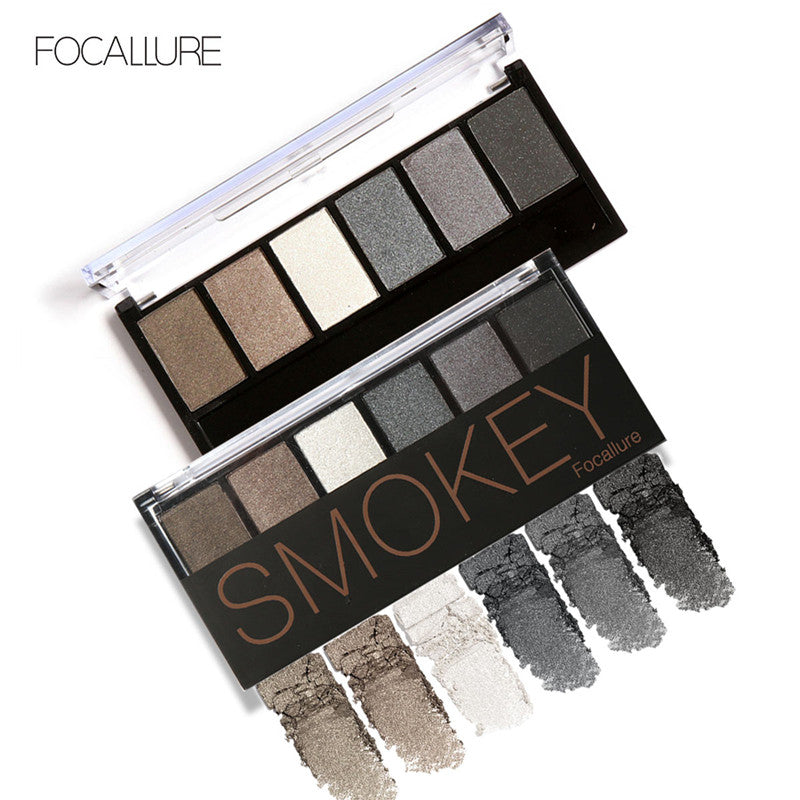 COSMETICS -  6 Color Smokey EyeEyeshadow Palette