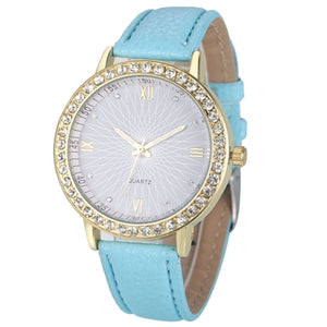 WOMAN'S WATCHES -  Crystal Diamond Watch