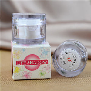 COSMETICS -  2 in 1 Eye White Color Single Eyeshadow Palette