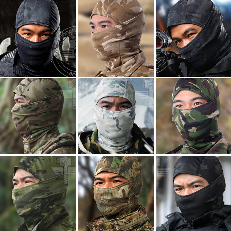 FACEMASK -  Camouflage Full Face Mask