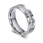 JEWELRY - KISS MANDY Silver Bridal Bands for Couples