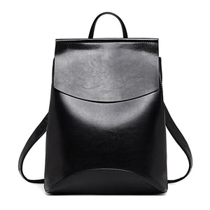 BACKPACKS  -   High Quality Leather Backpack
