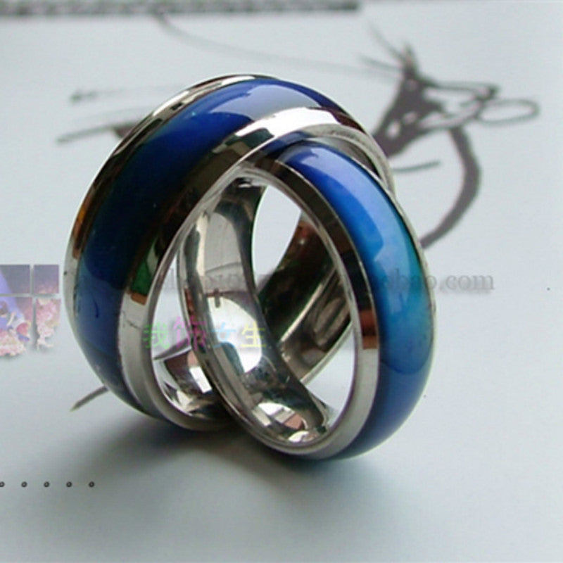 JEWELRY - Changing Color Fashion Adjustable Mood Rings; Men and Women