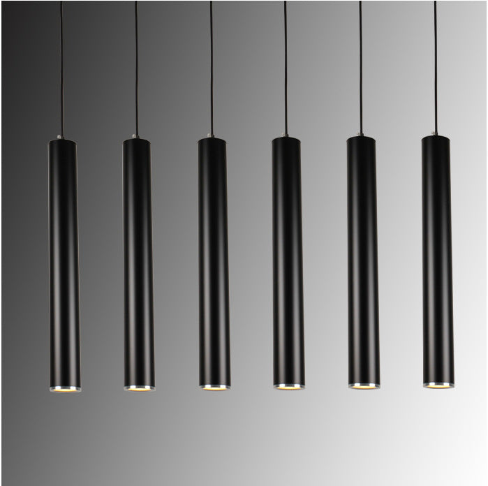 LIGHT FIXTURES  -  Creative Art Decor LED Pendant Lamp Bar Cylinder Pipe Pendant Light