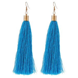 EARRINGS  -   Bohemian Tassel Long Earrings