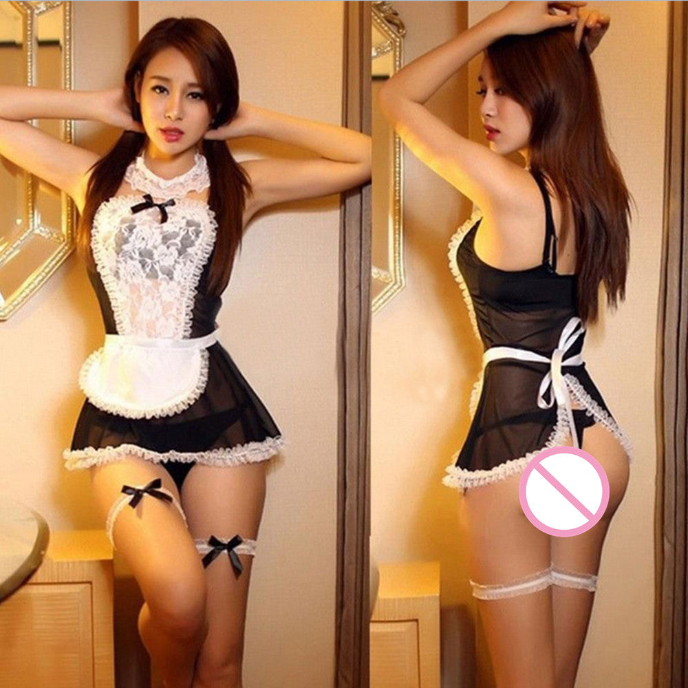 LINGERIE -  Sexy Cosplay Maid Uniform Lingerie