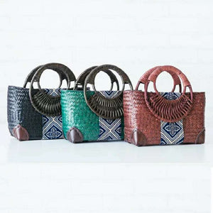 BAGS  -   Summer Straw Beach Bag
