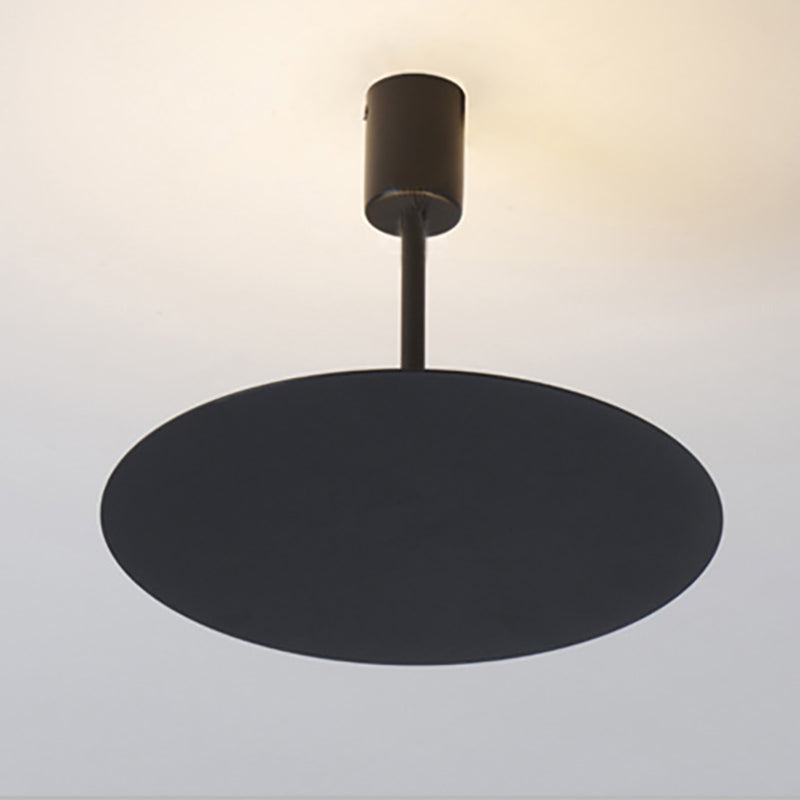 LIGHT FIXTURES  -  Art Deco Modern Brief Black or White LED Adjustable Pendant Lights