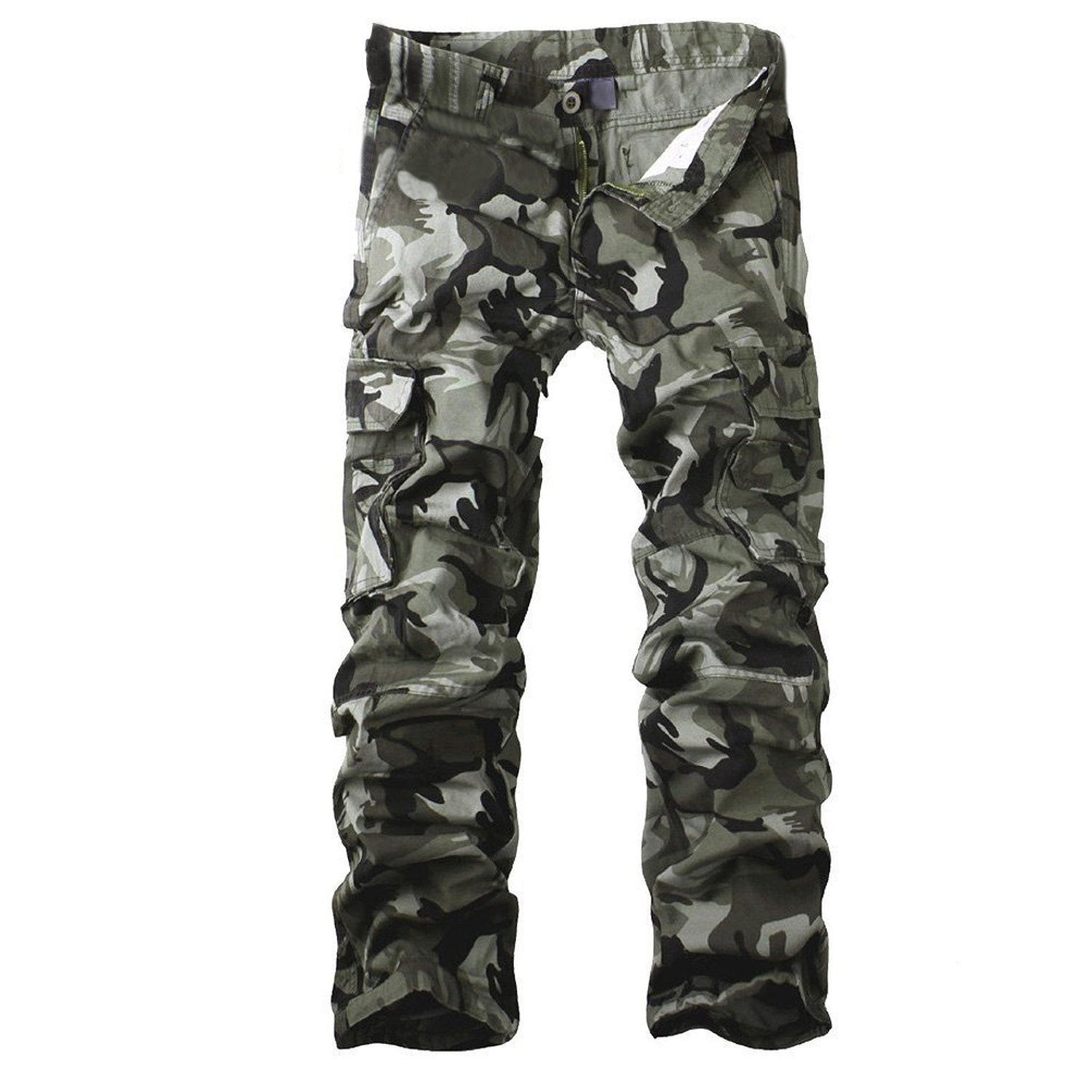 TROUSERS -  Military Camouflage Cargo Pants