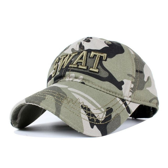 HATS AND CAPS - SWAT Camouflage Baseball Caps