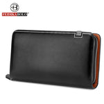 MENS WALLET -  Men's Clutch Leather Wallet